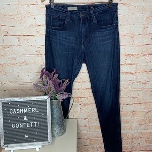 AG The Farrah Skinny High Rise Jeans Size 29 C5